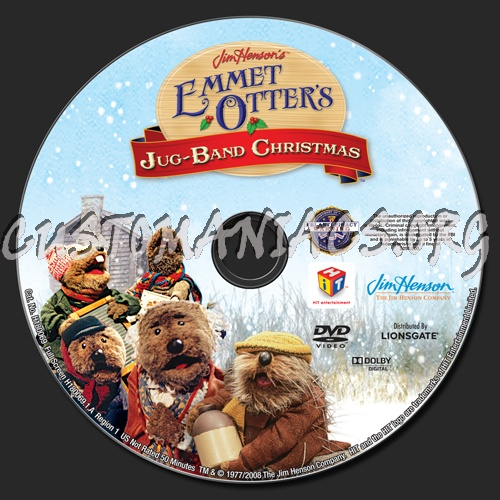 Emmett Otter S Jugband Christmas: Forum TV-Show Scanned Labels