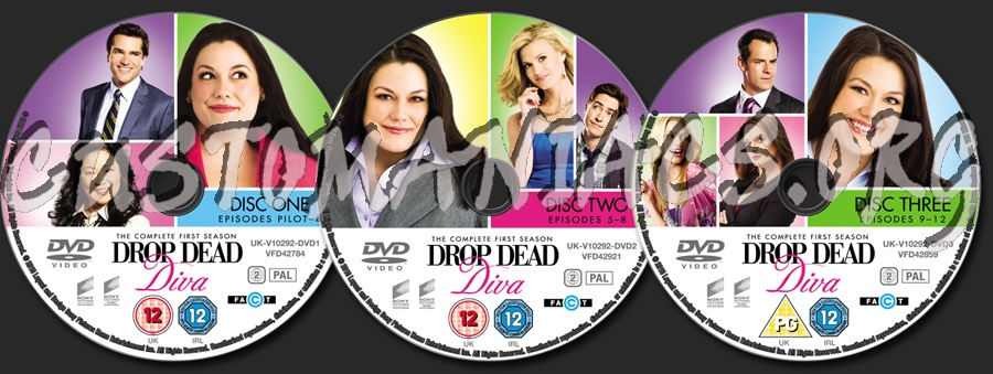 Forum tv show scanned labels page 87 dvd covers - Drop dead diva final season ...