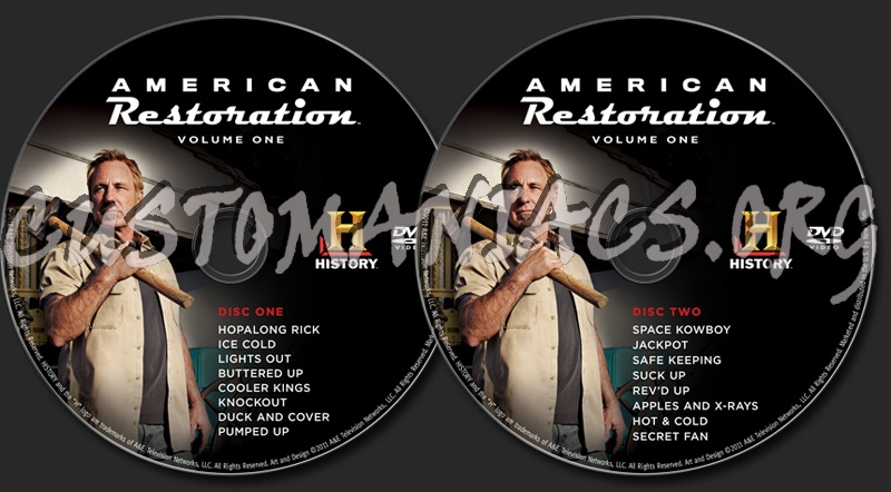 american restoration dvd vol 1 male models picture