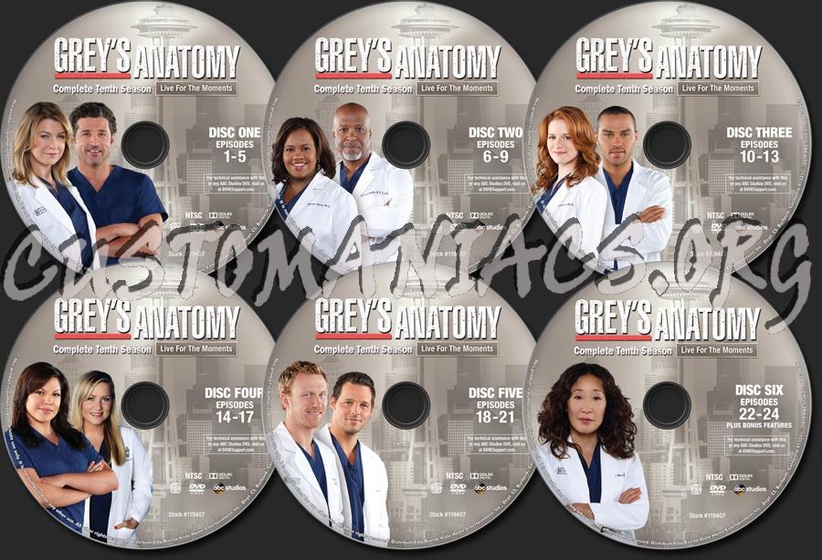 Greys anatomy seaosn 10