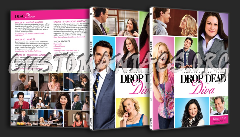 Forum tv show scanned thinpaks page 13 dvd covers - Drop dead diva seasons ...